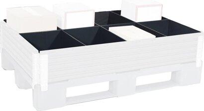 Raumteiler für Aufsatzrahmen