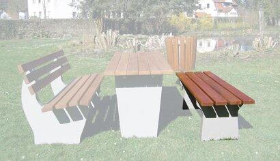 Sitzbank, Modell 15
