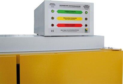 Filteraufsatz für Gefahrstoffschrank Typ 90