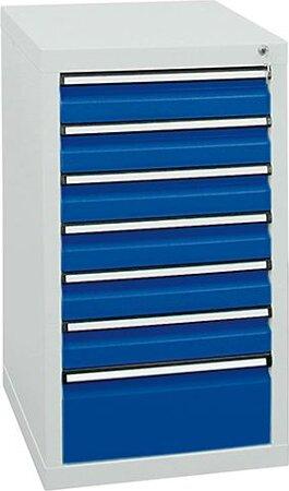 Schubladenschrank, 900x500x500 mm, Schubladen 6x 100/1x 200 mm