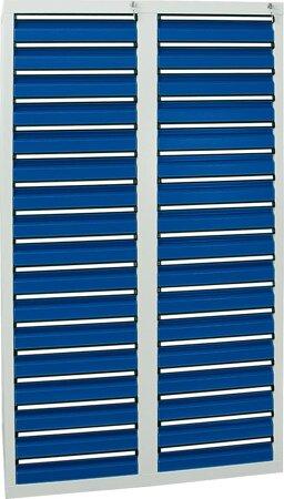 Schubladenschrank, 1800x1000x500 mm, Schubladen 34x 100 mm