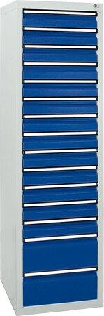 Schubladenschrank, 1800x500x500 mm, Schubladen 13x 100/2x 200 mm