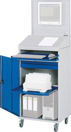 Computer-Schrank, Breite 650 mm