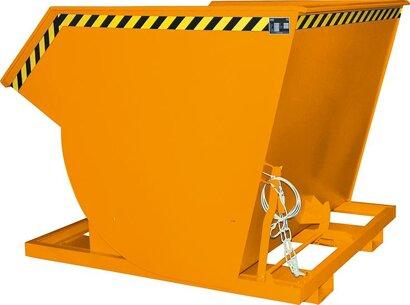 Kippbehälter, mit Abrollsystem, RAL 2000