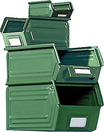 Sichtlagerkasten, Typ SLK, RAL 6011 grün