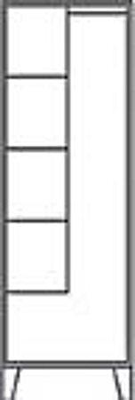 Geräteschrank Abteil-/Schrankbreite 300/610 mm mit Füßen