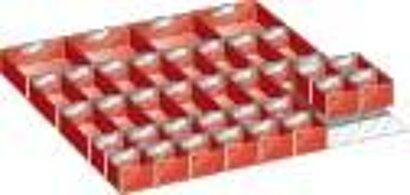Einsatzkästen 36x36, 36 Stück