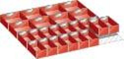 Einsatzkästen 36x36, 24 Stück