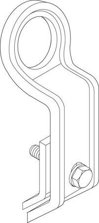 Kranaufhängung für Gasflaschenlager