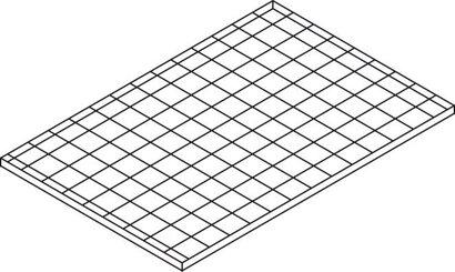 Gitterrost-Ebene für Haltevorrichtung