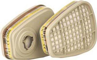 Atemschutzfilter gegen Gase und Dämpfe