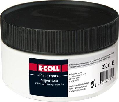 Poliercreme für Metall, Press- u. Kunstoffmasse, Chromteile