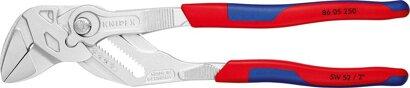 Zangenschlüssel mit Mehrkomponenten-Kunststoffhüllen-Griff