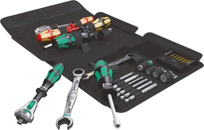 Sanitär-Werkzeugsortiment Kraftform Kompakt SH 1 25-teilig