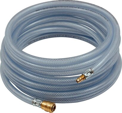 PVC-Gewebeschlauch mit Kupplung und Nippel