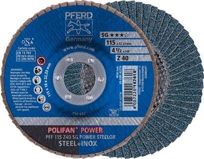 POLIFAN-Fächerschleifscheibe Z SG POWER STEELOX