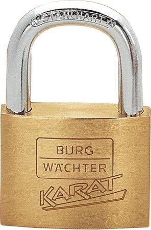 Vorhangschloss Messing mit 2 Schlüsseln