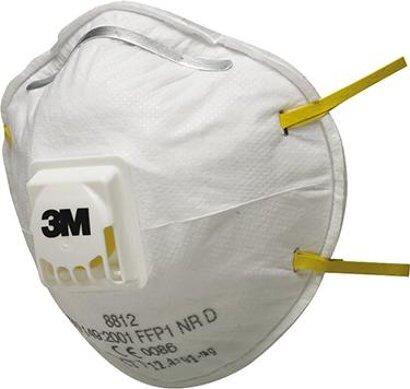 Feinstaubmaske 8812 FF P1 mit Ausatemventil