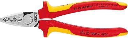 Aderendhülsenzange Kopf poliert Spezial-Werkzeugstahl