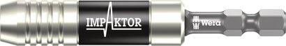 """Bithalter Impaktor mit 1/4"""" 6-kant-Schaft mit Dauermagnet"""