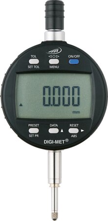 Digitale Messuhr für statische Messung Ablesung 0,001 mm
