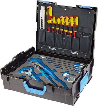 Sanitär-Werkzeugsortiment 44-teilig