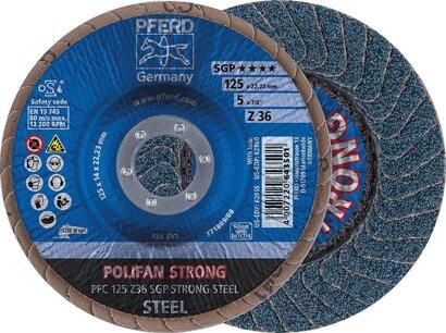 POLIFAN-Fächerschleifscheibe Z SGP STRONG STEEL