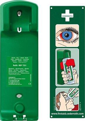 Wandhalterung für Augenspülung Eye Wash