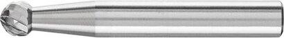 HM-Frässtift Kugelform KUD Zahnung 4