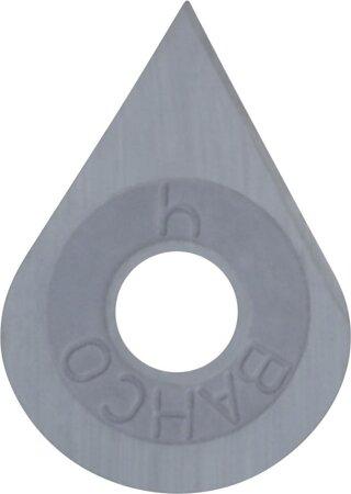 HM-Klinge für Farbschaber in Tropfenform