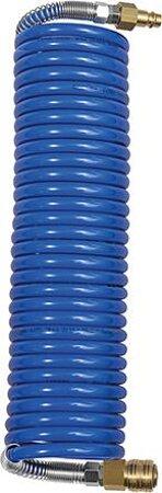 Polyamid-Spiralschlauch mit Kupplung und Nippel
