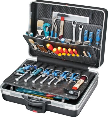 Werkzeugkoffer CLASSIC mit Rollen 54 l Vol Einsteckfächer