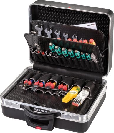 Werkzeugkoffer CLASSIC mit Rollen 35 l Vol Einsteckfächer