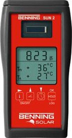 Einstrahlungs- und Temperaturmessgerät SUN 2