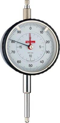 Analoge Messuhr mit großem Messbereich stoßgeschützt