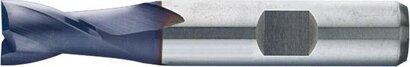 Langlochfräser HSS Co8 Typ N kurz DIN 327-D