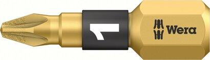 """Bit 1/4"""" für Kreuzschlitz-Schrauben PZ 25 mm Bi-Torsion"""
