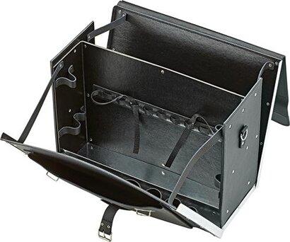 Leder-Tasche 450 x 190 x 340 mm