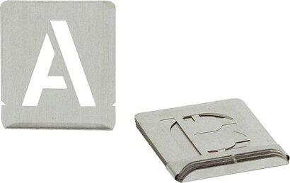 Signierschablone Buchstaben A-Z