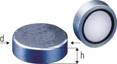 Neodym-Magnet-Flachgreifer ohne Gewindebuchse