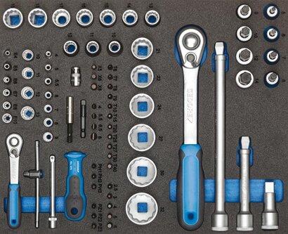 Werkzeugsortimente im Modul 147-teilig