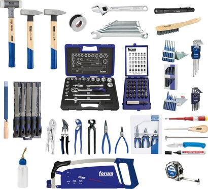 Montage-Werkzeugsortiment 129-teilig