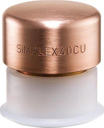 Schonhammerschlagkopf SIMPLEX Kupfer