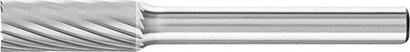 HM-Frässtift Zylinderform ZYAS mit Stirnverzahnung Zahnung 3
