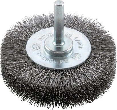 Werkzeug-Rundbürste Stahldraht gewellt