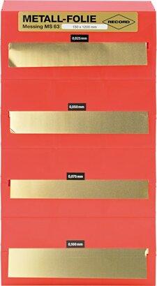 Metallfolien-Sortiment Bandware