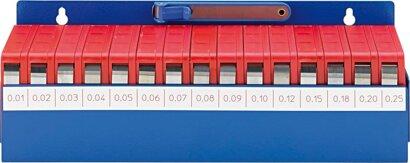 Fühlerlehrenband und Halter in Werkstattbox
