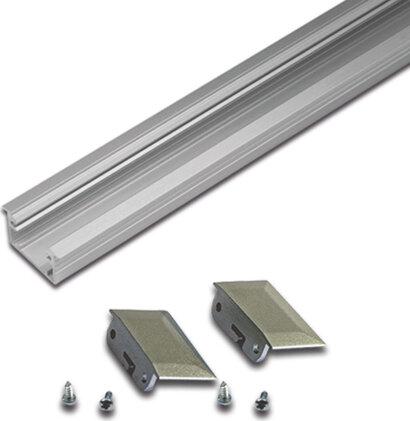 Stirndeckel für LED Einfräsprofil