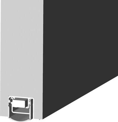 Schiebetürdichtung Schall-Ex® Slide L-24/20 OS, Silikon