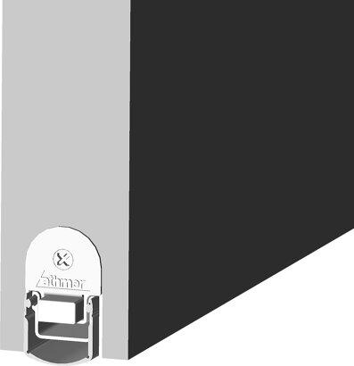 Schiebetürdichtung Schall-Ex® Slide L-24/20 WS, Silikon